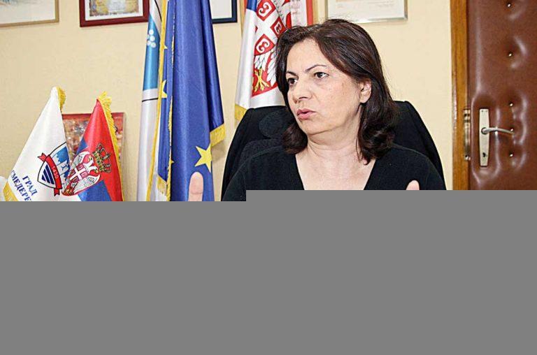 Аврамовићева поднела оставку на страначку функцију