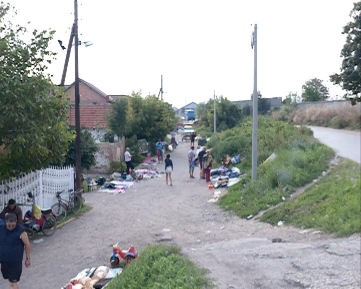 Канализациона мрежа за ромско насеље Мали кривак