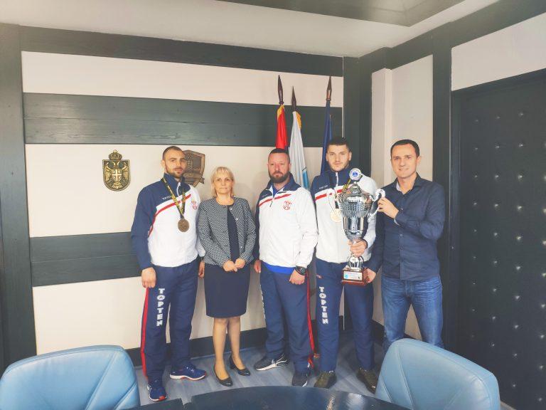 Град наградио освајаче медаља